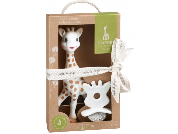 Sophie la girafe ® et chewing rubber SO'PURE