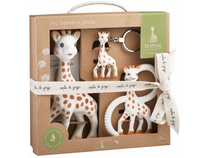 Coffret Trio Sophie la girafe SO'PURE
