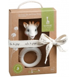 Ring Sophie la girafe®  SO'PURE en caoutchouc 100% naturel